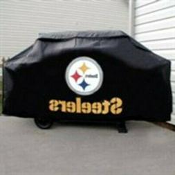 Pittsburgh Steelers DELUXE Heavy Duty BBQ Barbeque Grill Cov
