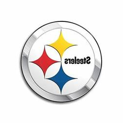 Pittsburgh Steelers Emblem Sticker Raised 3D Metal Auto Embl