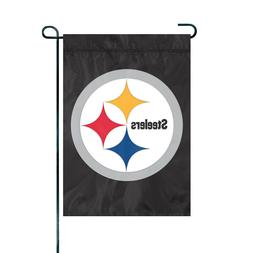 PITTSBURGH STEELERS Embroidered Garden Window FLAG Outdoor D