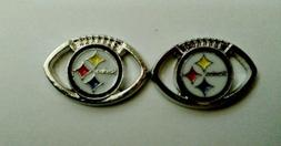 Pittsburgh Steelers Enamel Layered Pewter Charm for Paracord