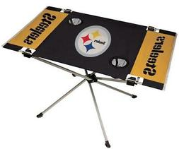 Pittsburgh Steelers Endzone Tailgate Table  NFL Portable Cha