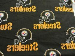 PITTSBURGH STEELERS FABRIC - BLACK