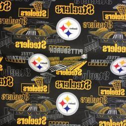 PITTSBURGH STEELERS fabric! NFL! New! 1/4 yard!
