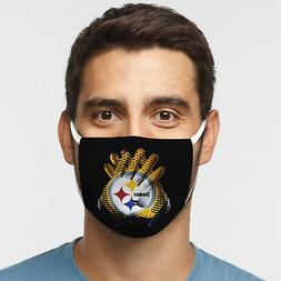 Pittsburgh Steelers Face Mask - Gloves Design - Comfortable,