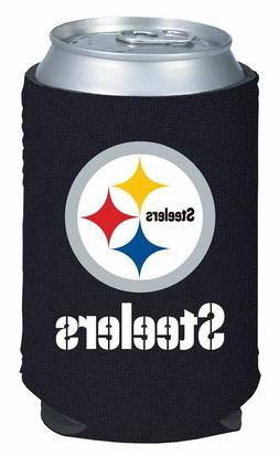 Pittsburgh Steelers Fan Pack -Can Coozie Koozie Holder & Bot