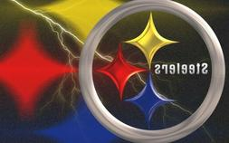 Pittsburgh Steelers Flag Banner 3x5 Lg NEW Bright Colors NO