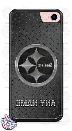 Pittsburgh Steelers Logo Any Name Phone Case Cover For iPhon