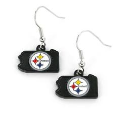 Pittsburgh Steelers Football NFL State Design Charm Silver D