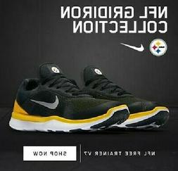 Pittsburgh Steelers Nike Free Trainer V7 Shoes 9