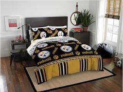 pittsburgh steelers queen comforter and sheet set