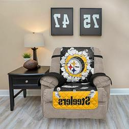 PITTSBURGH STEELERS FURNITURE PROTECTOR EXPLOSION COVER RECL