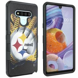 Pittsburgh Steelers #G Rugged Shockproof Armor Impact Case f