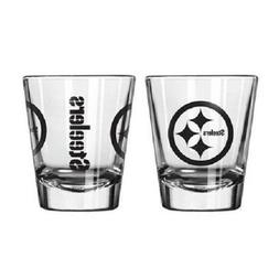 Pittsburgh Steelers Game Day Logo Shot Glass NEW