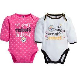 Pittsburgh Steelers Girl Baby Body suit Infant Creeper Onsie