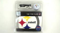 Pittsburgh Steelers Golf Gift Set Ball, Tee's, Towel NFL Lic