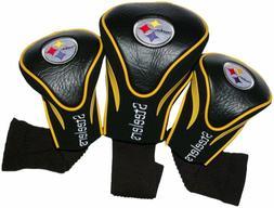 Pittsburgh Steelers Golf Head Cover 3 pak