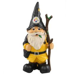 Pittsburgh Steelers Holding Stick Decorative Garden Gnome 10