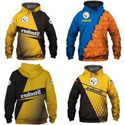 Pittsburgh Steelers Hoodie Sweatshirt Hooded Sport Casual Ja