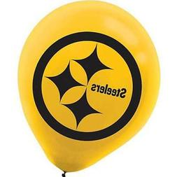 NFL PITTSBURGH STEELERS LATEX BALLOONS  ~ Birthday Party Sup