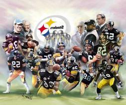 Pittsburgh Steelers LEGENDS Premium Art POSTER Print