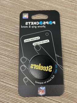 Pittsburgh Steelers Logo PopSockets Phone Grip Holder NEW SE