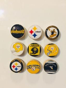 pittsburgh steelers magnets set of 9 free