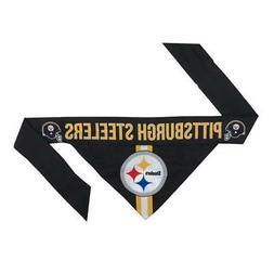 Pittsburgh Steelers Medium Pet Bandanna  NFL Dog Puppy Colla