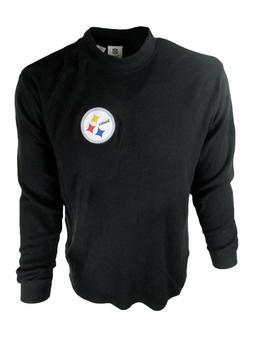 Pittsburgh Steelers Men's Big & Tall Mock Neck LS Shirt NFL