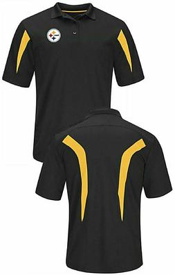 Pittsburgh Steelers Mens Black Field Classic 14 Synthetic Po