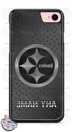 Pittsburgh Steelers Metal Logo Personalized Phone Case for i