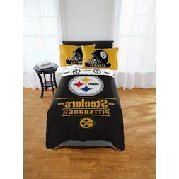 NFL Pittsburgh Steelers Monument Twin & Full Comforter Team