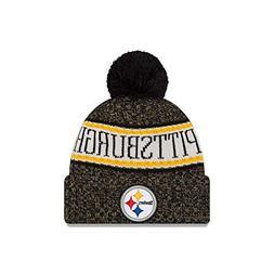 New Era Pittsburgh Steelers NFL 2018 On Field Sport Knit