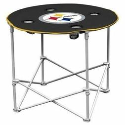 PITTSBURGH STEELERS NFL 30 INCH ROUND TAILGATE TABLE