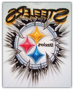 Pittsburgh Steelers NFL Art Logo Car Bumper Sticker Decal -