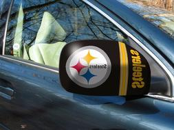 Pittsburgh Steelers NFL Car/Truck Mirror Covers - Size: Smal