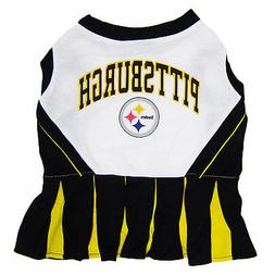 Pets First Pittsburgh Steelers NFL Cheerleader Outfit