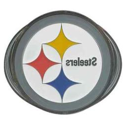 PITTSBURGH STEELERS NFL Class III Pewter Trailer Hitch Cover