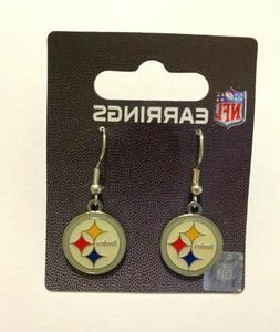 Pittsburgh Steelers NFL Dangle Earrings