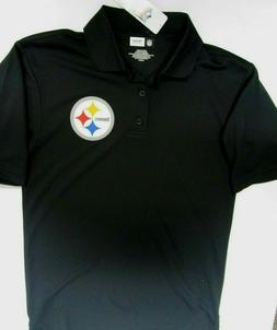 PITTSBURGH STEELERS NFL DRI FIT MENS LARGE GOLF SHIRT POLO N