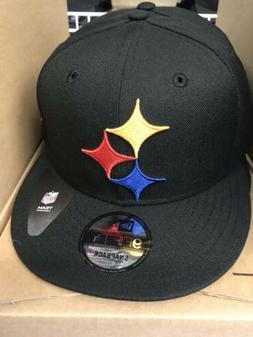 Pittsburgh Steelers NFL Elements Logo New Era Snapback Hat 9