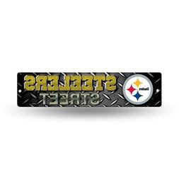 """Pittsburgh Steelers NFL Football 16"""" Street Sign Fan Wall De"""
