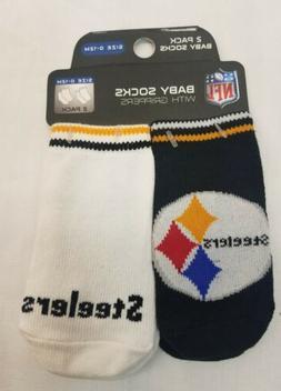 Pittsburgh Steelers NFL Football Babies 0-12 Mo Gripper Sock