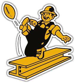 Pittsburgh Steelers NFL Football Old Bumper Locker Notebook