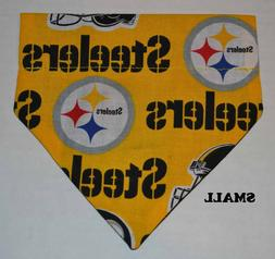 Pittsburgh Steelers NFL Football Over Collar Slide On Pet Do