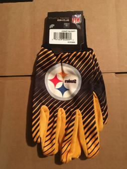 Pittsburgh Steelers NFL Full Color Sublimated Utility Gloves