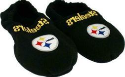 Pittsburgh Steelers NFL Hot Footies Slippers Men's XL Size 1