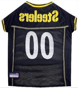 Pittsburgh Steelers NFL Licensed Pet First Dog Jersey Shirt