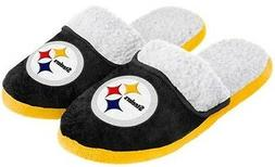 Pittsburgh Steelers NFL Licensed Women's Sherpa Slide Slippe