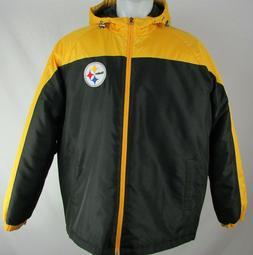 Pittsburgh Steelers NFL Men's Yellow Full-Zip Coat