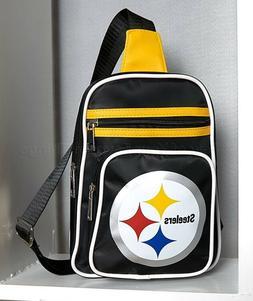 Pittsburgh Steelers NFL Mini Cross Sling Bag Women's Purse F